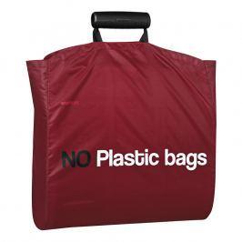 Stelton I:cons bevásárló táska, No plastic felirattal, pink