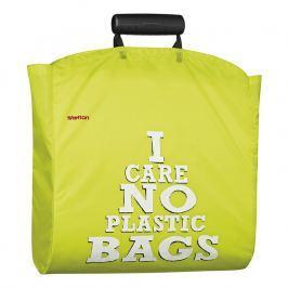 Stelton I:cons bevásárló táska, No plastic felirattal, pistachio