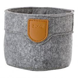 ZONE CRAFT kisméretű tárolókosár, grey
