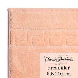 Christian Fischbacher Dreamflor® nagyméretű törölköző, 60 x 110 cm, lazacrózsaszín, Fischbacher