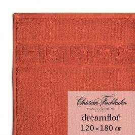Christian Fischbacher Dreamflor® nagyméretű fürdőtörölköző, 120 x 180 cm, skarlátvörös, Fischbacher