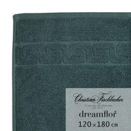 Christian Fischbacher Dreamflor® nagyméretű fürdőtörölköző, 120 x 180 cm, smaragdzöld, Fischbacher