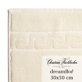 Christian Fischbacher Dreamflor® vendégtörölköző, 30 x 50 cm, krémszínű, Fischbacher