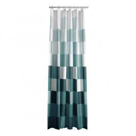 ZONE Kockás zuhanyfüggöny, 180 × 200 cm, green