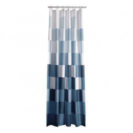 ZONE Kockás zuhanyfüggöny, 180 × 200 cm, blue