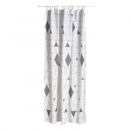 ZONE HARLEQUIN zuhanyfüggöny, 180 × 200 cm, grey