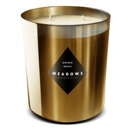 Meadows Golden Grace illatgyertya, maxi, arany