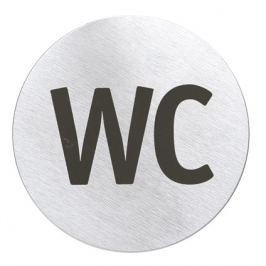 "Blomus SIGNO ""WC"" piktogram ajtóra, kör alakú"