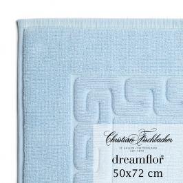 Christian Fischbacher Dreamflor® fürdőszobaszőnyeg, 50 x 72 cm, babakék, Fischbacher