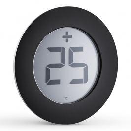 Eva Solo Digitális kültéri hőmérő, fekete, Ø 8 cm