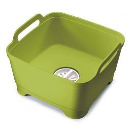 Joseph Joseph Wash&Drain™ műanyag mosogatótál, zöld