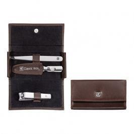 ZWILLING ZWILLING® Classic Inox manikűrkészlet körömcsipesszel, 3 részes, barna