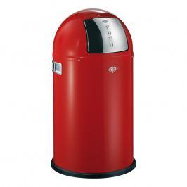 Wesco Pushboy Junior szemeteskosár, 22 liter, piros