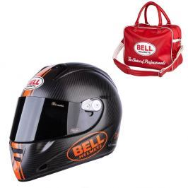 Bell M5X Daytona Carbon Matte Orange XL(61-62)