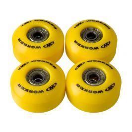 WORKER kerekek 50*30mm csapágyakkal ABEC 5 sárga