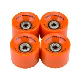 WORKER 60*45mm kerék csapágyakkal ABEC 5 - 4db narancssárga