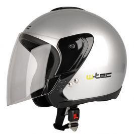 W-TEC MAX617 XS (53-54) - ezüst Přilby na motocykly