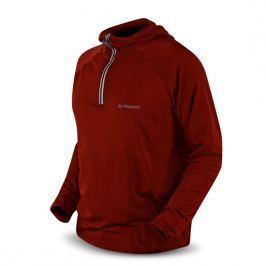 Trimm FABRI fleece M - piros Pánské mikiny