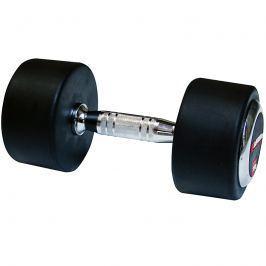 inSPORTline Profi pogumovaná jednoručka 50 kg Činky