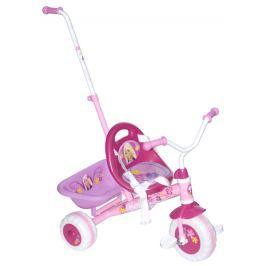 Barbie Gyerek tricikli Barbie toló rúddal Odrážedla