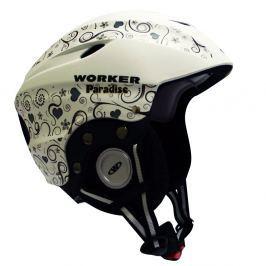 WORKER Paradise XS(48-52) - fehér Snowboardové přilby