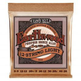 Ernie Ball 2153 Earthwood 12-String Light Phosphor Bronze Acoustic