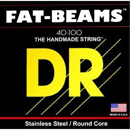 DR Strings Fat Beams Stainless 4 Strings 040-100