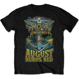 Rock Off August Burns Red Dove Anchor Mens Blk T Shirt: S