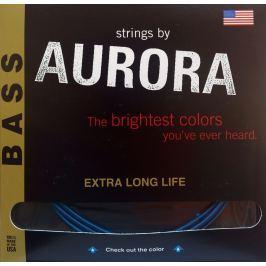 Aurora Premium 5-String Bass Strings 45-125 Nitro Tangerine