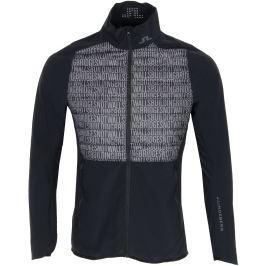 J.Lindeberg Mens Hybrid Jacket Lux Softshell Black Buildning Bridges L