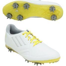 Adidas W Adizero Tour White/Yellow Womens UK4