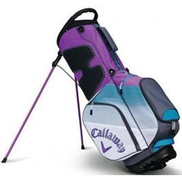 Callaway Chev Org Stand Bag White/Teal/Violet 2018