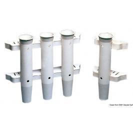 Osculati Rod holder bulkhead mounting white Nr. 1 rod - 44 mm diameter hole