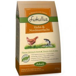 Lukullus csirke & norvég lazac - Gazdaságos csomag 2 x 15 kg