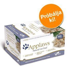 Applaws Cat Pot Selection próbacsomag 8 x 60 g - Hal-választék