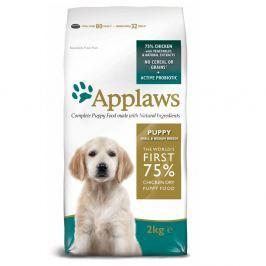 2x15kg Applaws Puppy Small & Medium Breed csirke száraz kutyatáp