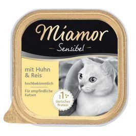 Miamor Sensibel 6 x 100 g - Pulyka & tészta