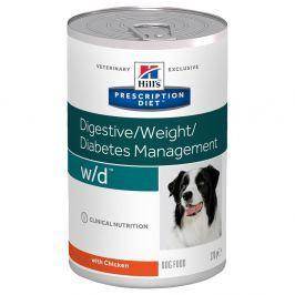 24 x 370 g Hill's Prescription Diet Canine w/d kutyatáp