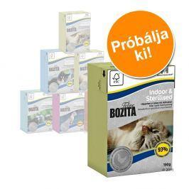 Bozita Feline vegyes próbacsomag 6 x 190 g - Vegyes csomag