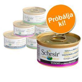 Schesir variációk próbacsomag 6 x 70 g / 75 g / 85 g - Hal hallében csomag (6 x 70 g)