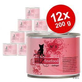 12x200g catz finefood konzerv nedves macskatáp-Vegyes csomag II