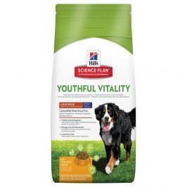 2x10kg Hill's Canine 5+ Youthful Vitality Large Breed csirke & rizs száraz kutyatáp