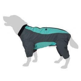 Menta színű kutyaoverál - háthossz: 50 cm (3XL méret)