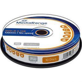 MediaRange DVD+R 4.7GB, 10ks