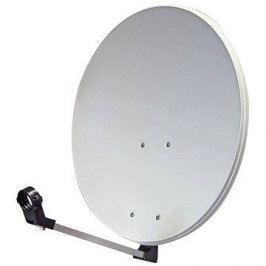 TeleSystem satelitní železná parabola 74x84cm, karton
