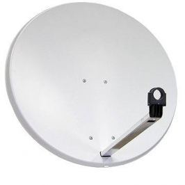 TeleSystem  satelitní hliníková parabola 85x84cm, karton