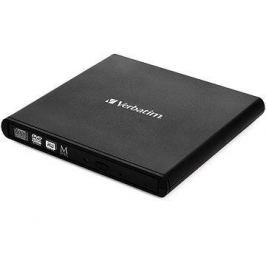 Verbatim External Slimline CD/DVD Writer černá + software Nero Backup Essentials