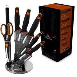 Berlingerhaus Sada kuchyňských nožů 8ks Granit Diamond Line černý