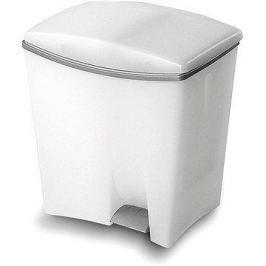 KIS Odpadkový koš Duetto 10l+ 20l bílý