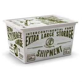 KIS C-Box Wood XL 50l na kolečkách